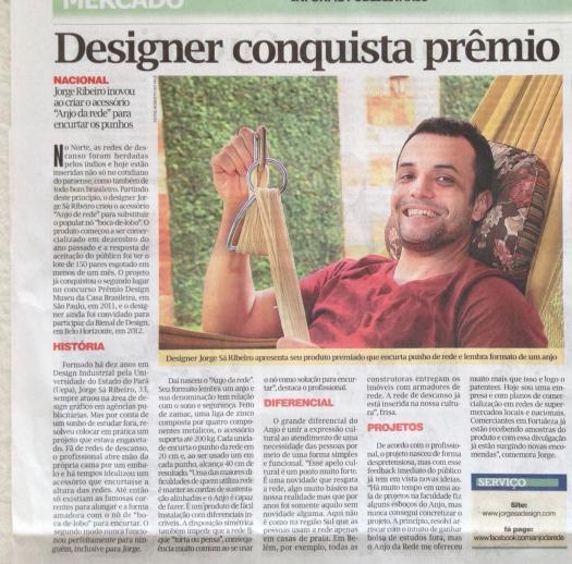 Jornal O Liberal. Belém, Pará.