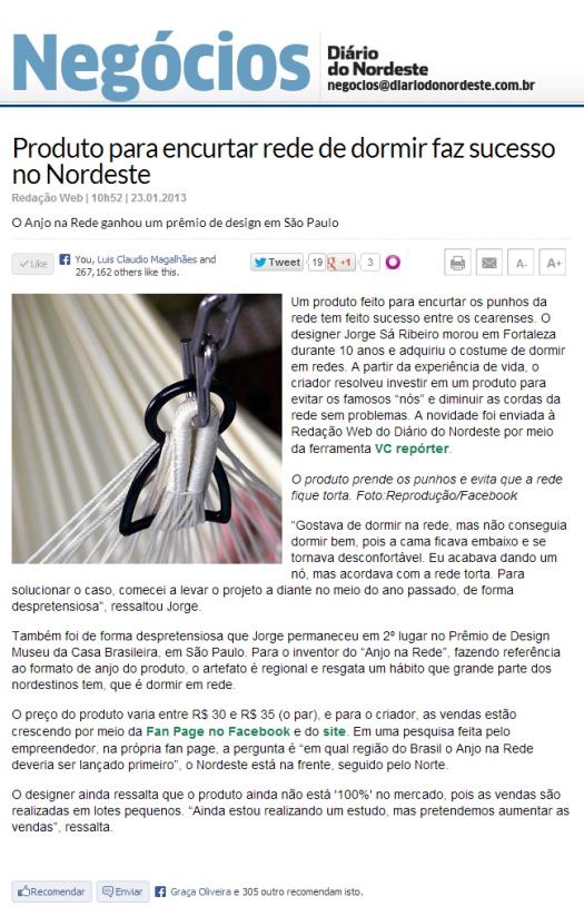 Diário do Nordeste On Line.